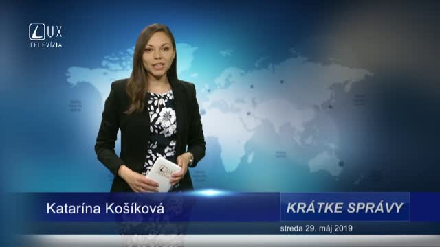KRÁTKE SPRÁVY (29.5.2019)
