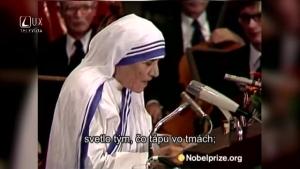 PRÍHOVORY (183) MATKA TEREZA