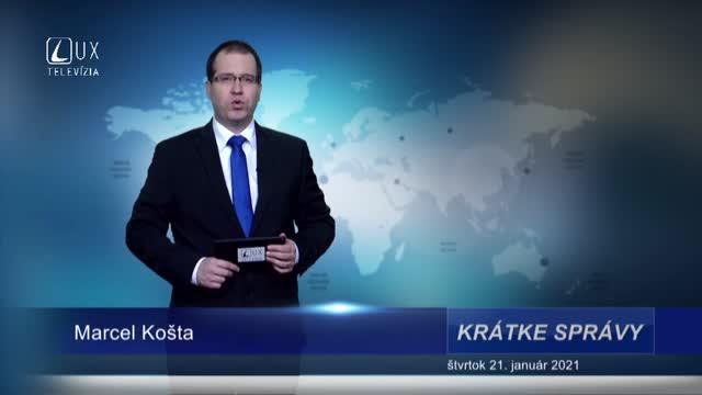 KRÁTKE SPRÁVY (21.1.2021)