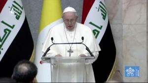 APOŠTOLSKÁ CESTA PÁPEŽA FRANTIŠKA DO IRAKU